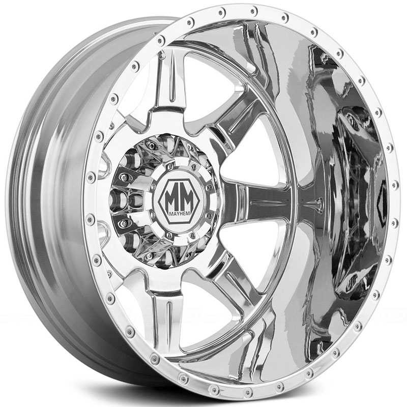 Mayhem Monstir Dually 8101  Wheels Chrome (Rear)