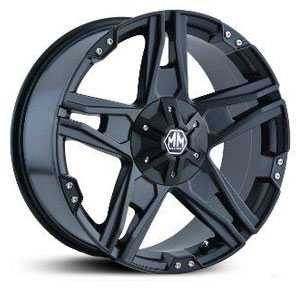 Mayhem Patriot 8080  Wheels Matte Black