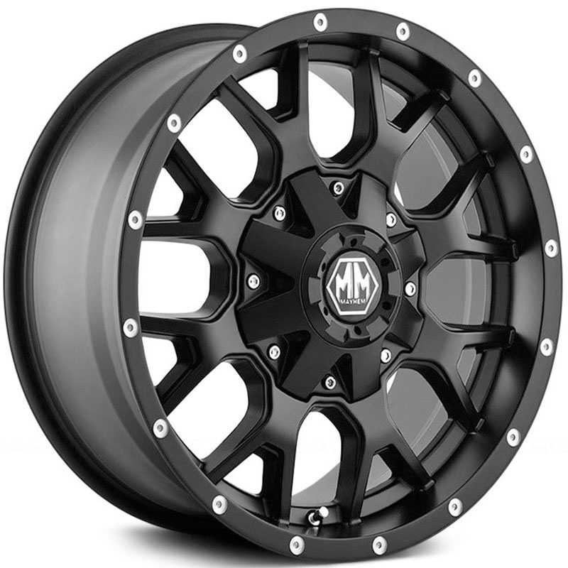 Mayhem  Warrior 8015  Wheels Matte Black