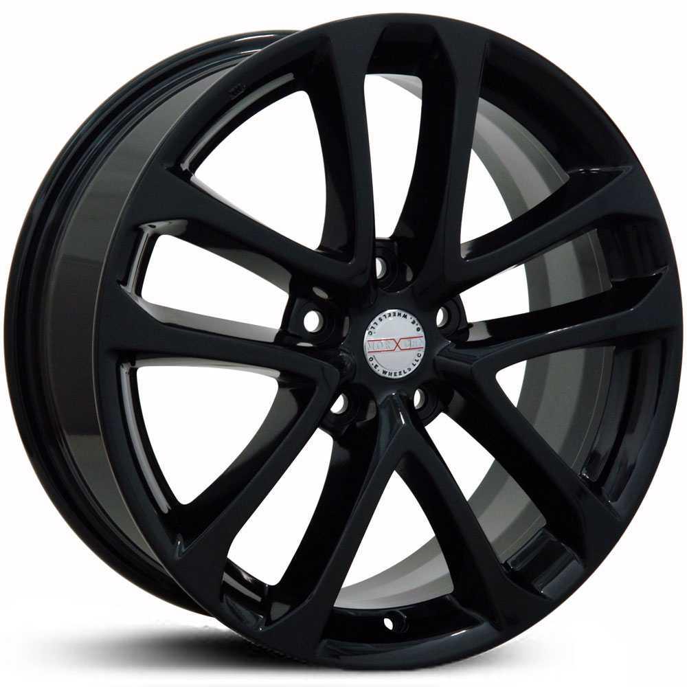 18x7 5 Nissan Altima Ns06 Black Hpo