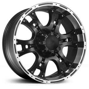 Phino PW158M  Wheels Machined Face & Lip Stripe