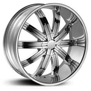 Red Sport RSW11  Wheels Chrome