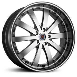 Red Sport RSW77A  Wheels Machine Face No Lip