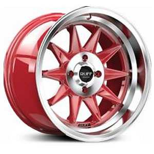 R358 Candy Red w/ Machined Center