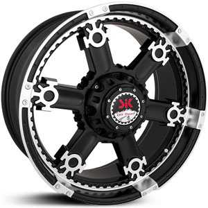 SIK 011  Wheels Black and Machined