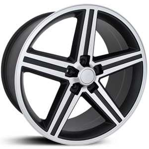 SIK 051  Wheels Black Machined