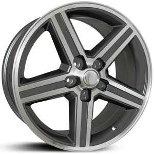 SIK 051  Wheels Gunmetal & Machined