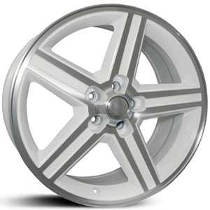 SIK 051  Wheels White & Machined