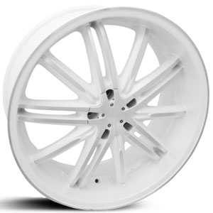 SIK 55  Wheels White & Machined