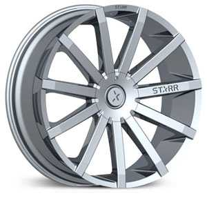 Starr 222 Mayhem  Wheels Chrome