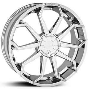 Starr 308 Lapua  Wheels Chrome