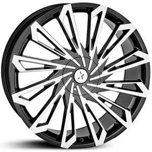 Starr 469 SKS  Rims Machined Black