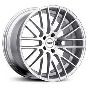 TSW Parabolica  Wheels Silver W/Mirror Cut Face