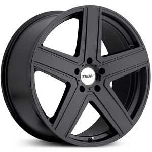 TSW Regis  Wheels Matte Black