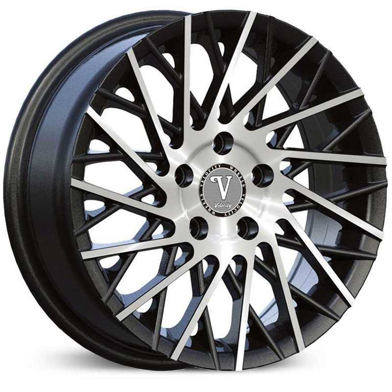 Velocity VW-16  Rims Machined Black