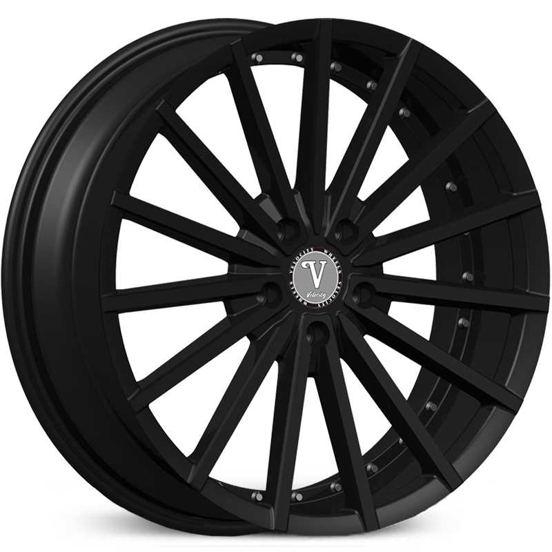 Velocity VW-17A  Wheels Matte Black