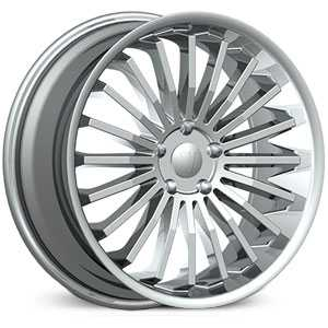 Velocity VW-18  Wheels Chrome