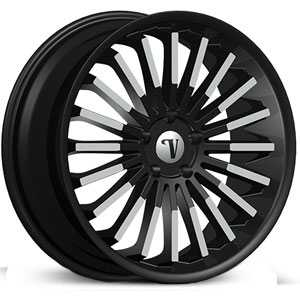Velocity VW-18  Rims Machined Black