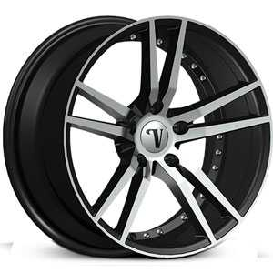 Velocity VW-20  Rims Machined Black