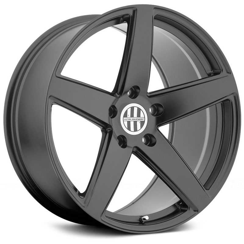 Victor Equipment Baden  Wheels Matte Black