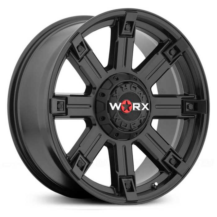 Worx Alloy 806SB Triton  Wheels Satin Black