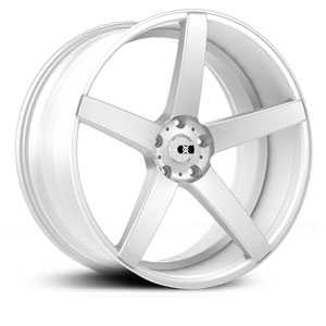 XO Luxury Milan X229  Wheels Matte Silver w/Brushed Face