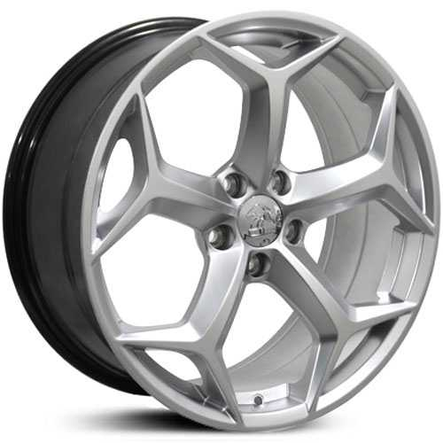 Fits Ford Focus FR09  Wheels Hyper Silver