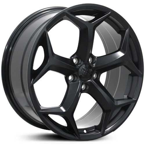 Fits Ford Focus FR09  Wheels Matte Black