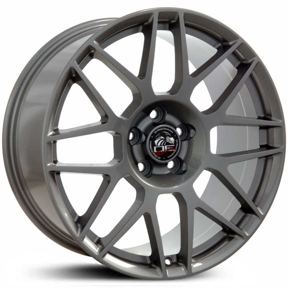 Fits Ford Mustang FR16  Wheels Gunmetal