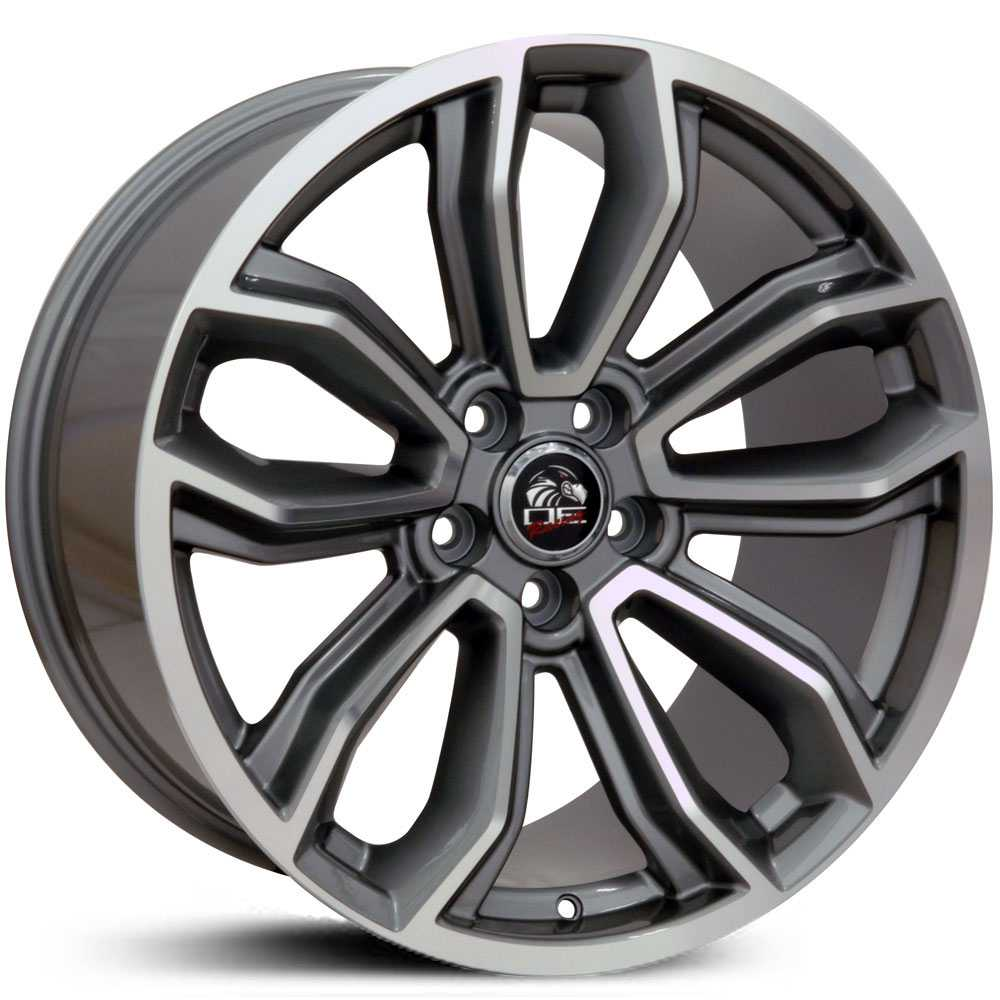 Fits Ford Mustang FR17  Wheels Gunmetal