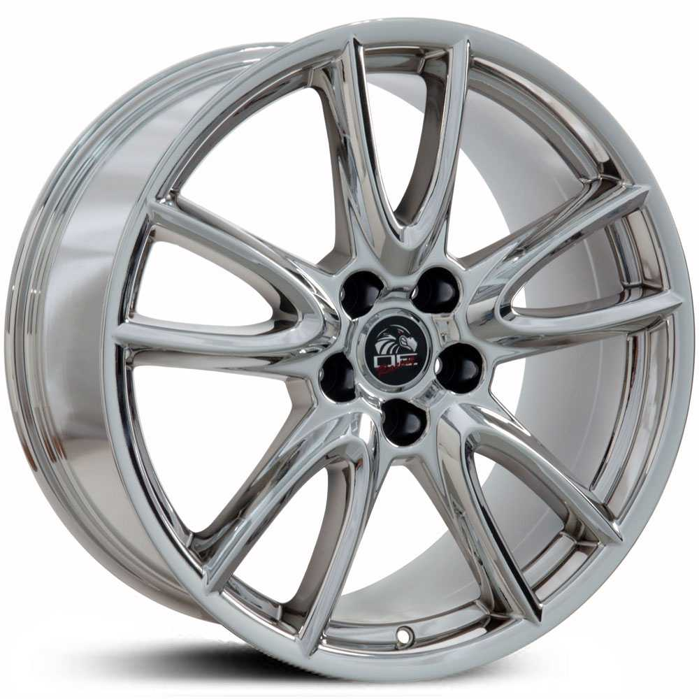 Fits Ford Mustang FR18  Wheels PVD Chrome