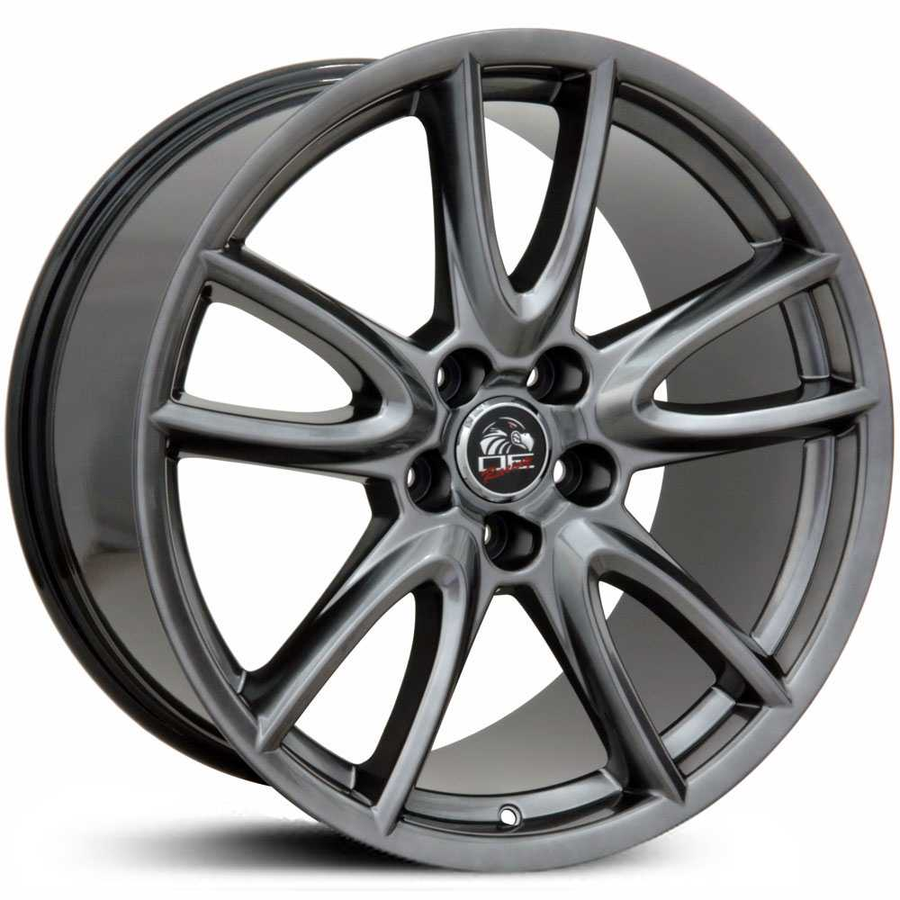 Fits Ford Mustang FR18  Wheels Silver