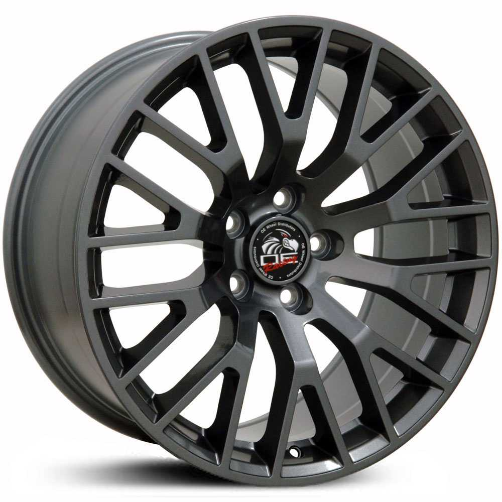 Fits Ford Mustang GT FR19  Wheels Gunmetal