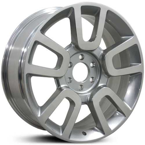 Fits Ford F-150 FR79  Wheels Silver Machined