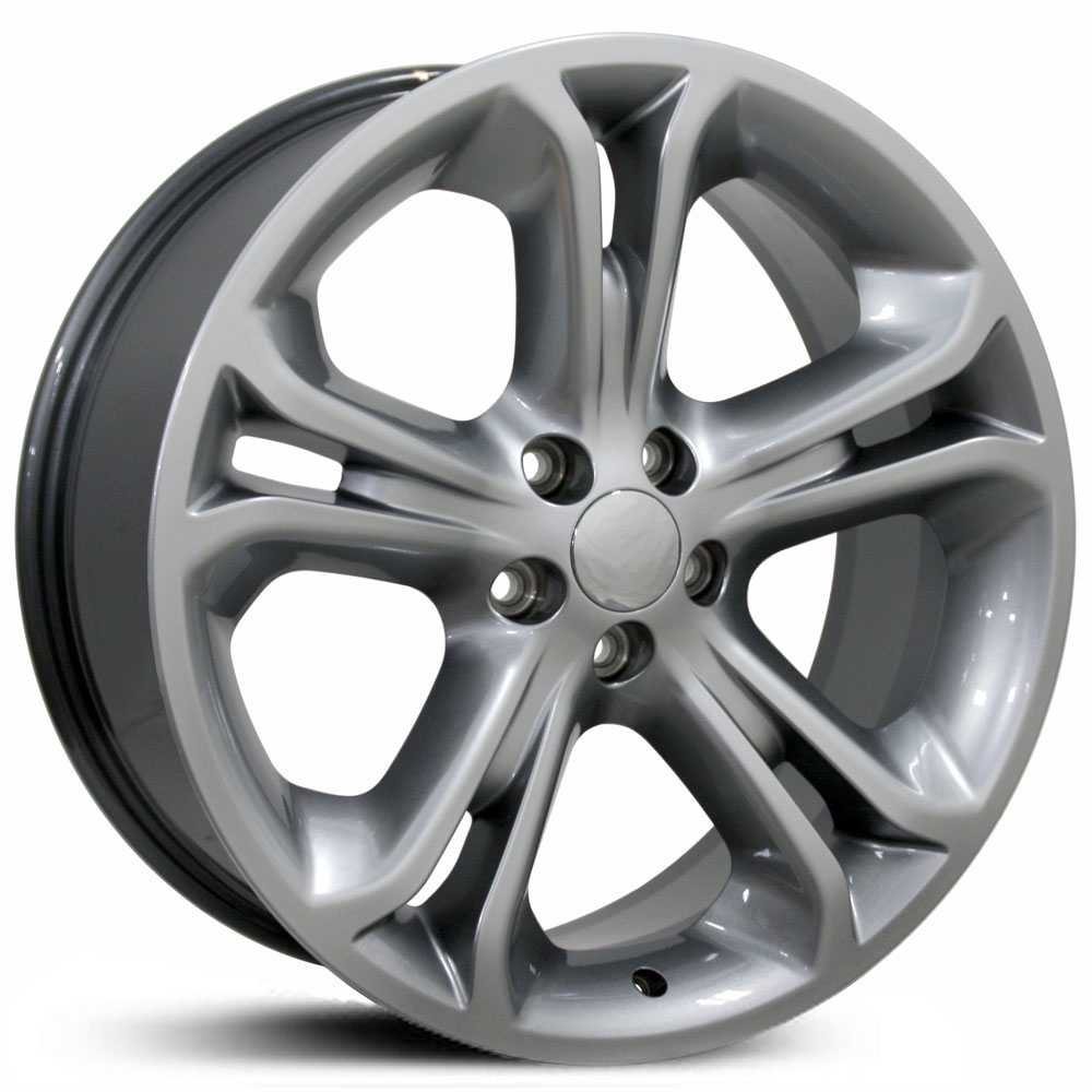 Fits Ford Explorer FR97  Wheels Hyper Silver