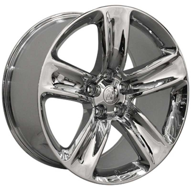 Jeep Grand Cherokee SRT JP17  Wheels Chrome