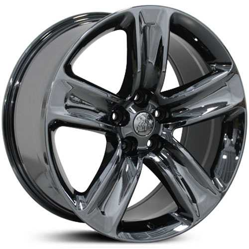 Jeep Grand Cherokee SRT JP17  Wheels PVD Black Chrome