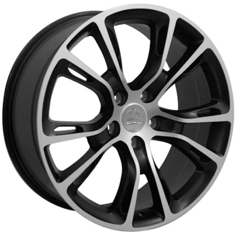 Jeep Grand Cherokee SRT8 JP16  Wheels Matte Black Machined