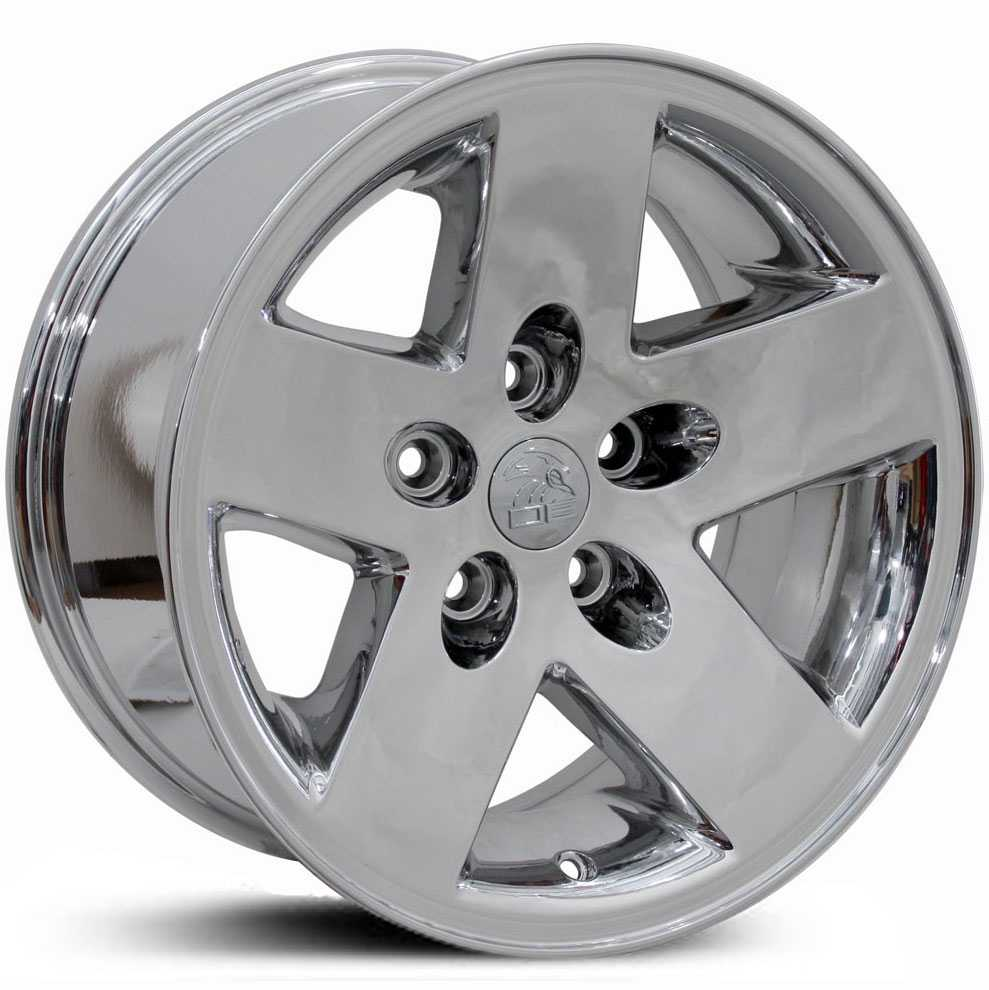 Jeep Wrangler JP18  Wheels PVD Chrome