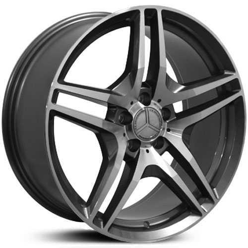 Mercedes benz cls class mb27 factory oe replica wheels rims for Mercedes benz tire rims
