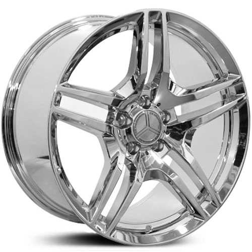 mercedes 19x8 5 benz cls class mb27 pvd chrome hpo wheels