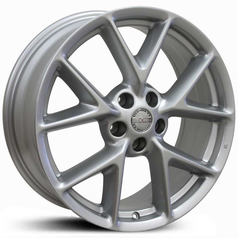 Black And Silver Rims For Nissan Altima