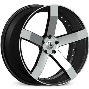 Red Sport RSW 100A  Wheels Black & Machined