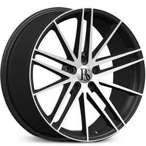 Red Sport RSW 120A  Wheels Black & Machined