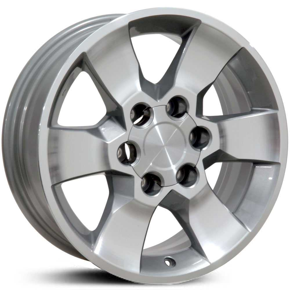 Toyota 4Runner (TY13)  Wheels Silver Machined Face