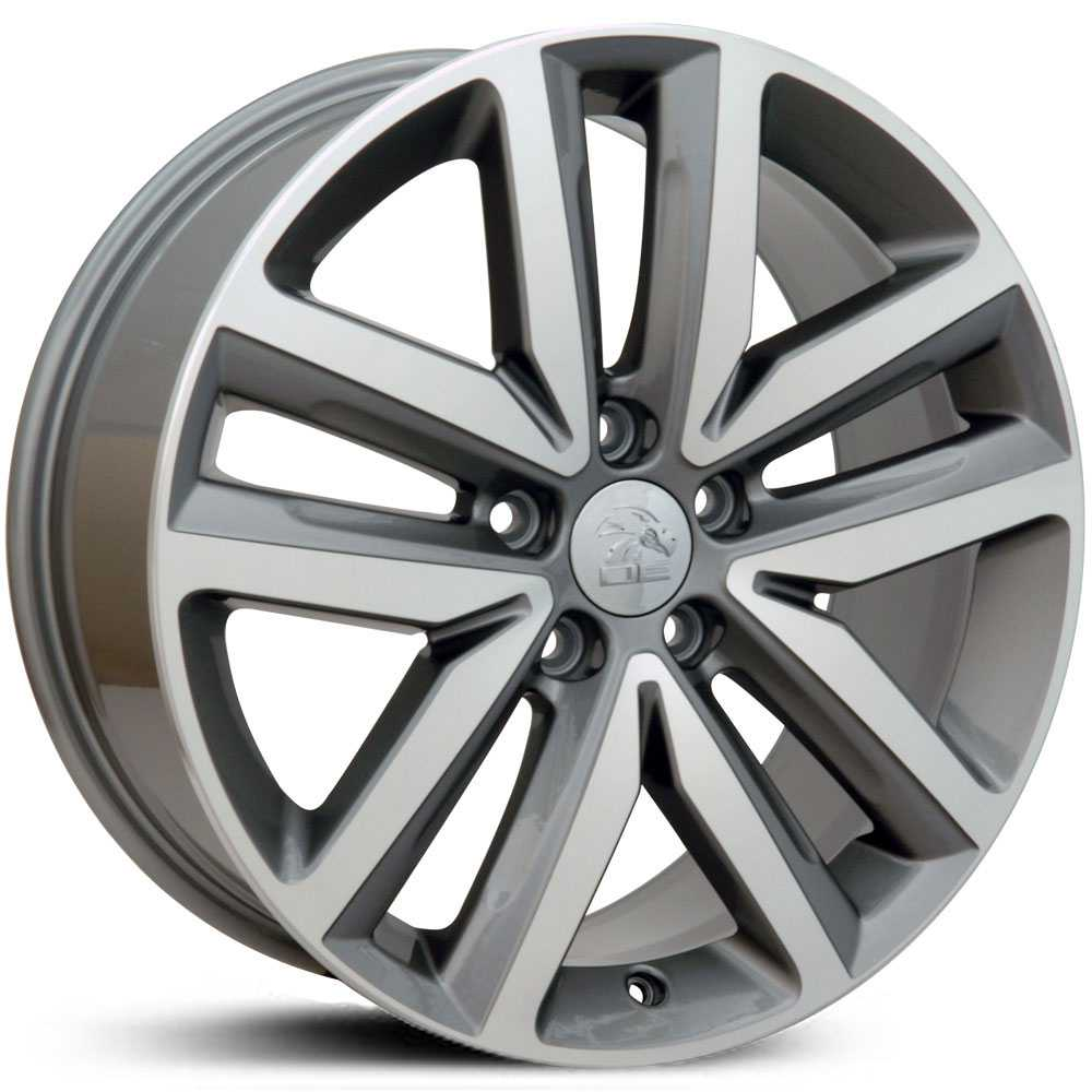 Volkswagen Jetta (VW27)  Wheels Gunmetal Machined