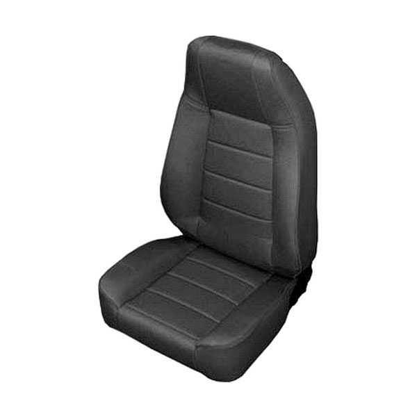 Smittybilt Seat Front Factory Style Replacement Recliner Denim Gray Jeep Wrangler Cj Yj Tj Lj Jk