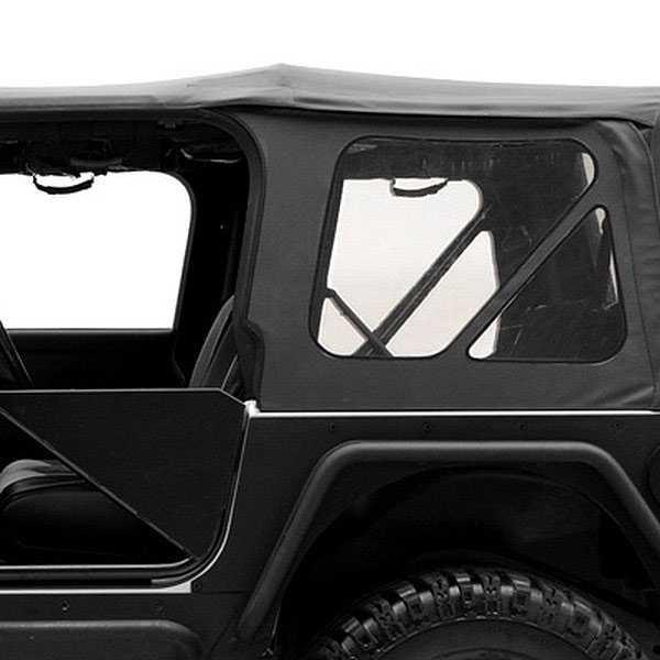 Jeep Wrangler Top Accessories: Smittybilt 1987-1995 Jeep Wrangler (YJ)