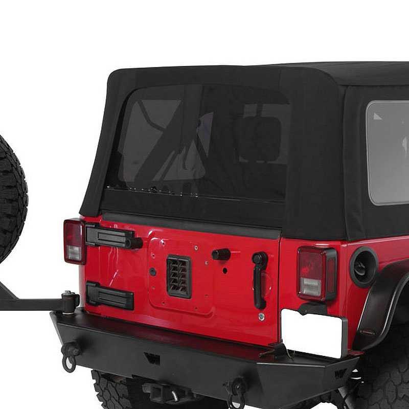 Jeep Wrangler Top Accessories: Smittybilt 2007-2009 Jeep Wrangler (JK)