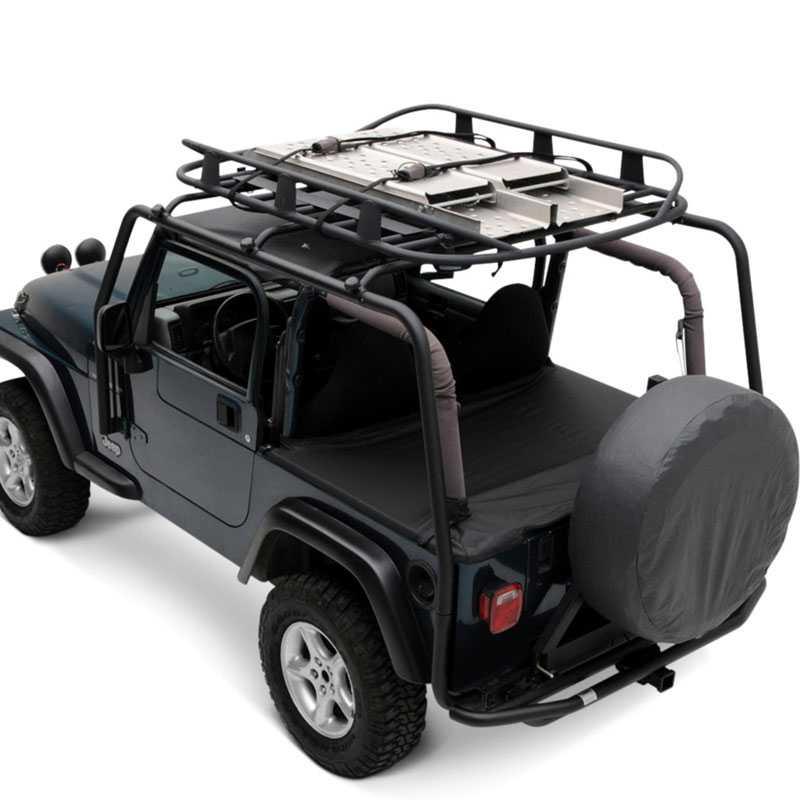 smittybilt racks src roof rack 2007 2015 jeep wrangler jk 2 door 300 lb rating black. Black Bedroom Furniture Sets. Home Design Ideas